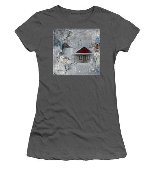 Lifeguard Station Women's T-Shirt (Athletic Fit)