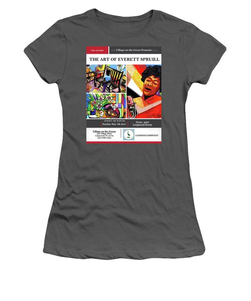 Lifespace Exhibition Poster Women's T-Shirt (Athletic Fit)