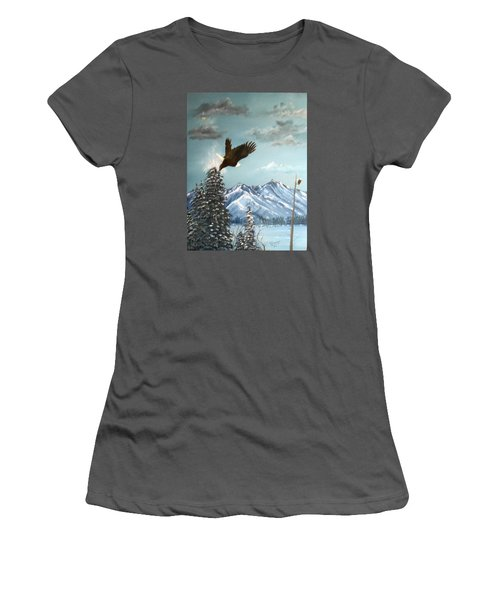 Lift Off Women's T-Shirt (Athletic Fit)