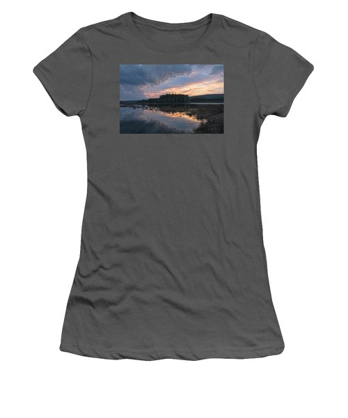 Light And Dark Women's T-Shirt (Athletic Fit)