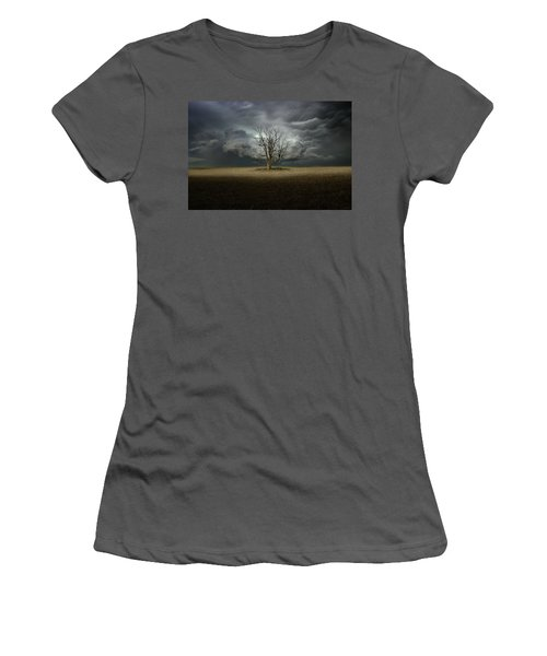 Light From The Heavens Women's T-Shirt (Athletic Fit)