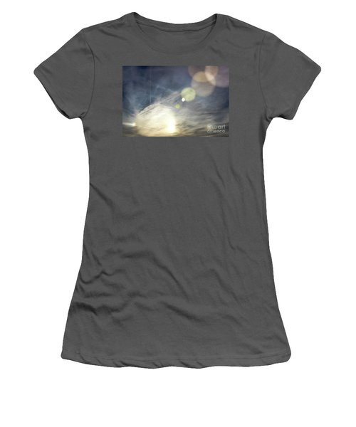 Women's T-Shirt (Junior Cut) featuring the photograph Lightshow by Colleen Kammerer