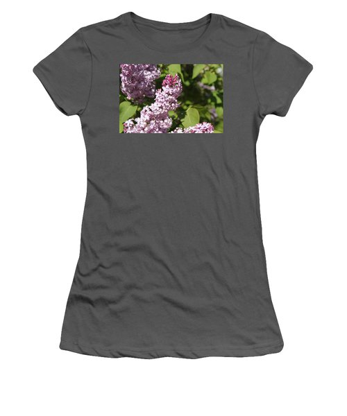 Women's T-Shirt (Junior Cut) featuring the photograph Lilacs 5552 by Antonio Romero