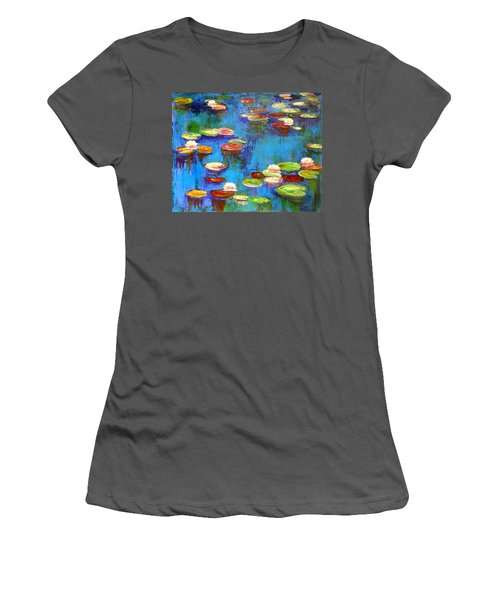 Lillies Women's T-Shirt (Athletic Fit)
