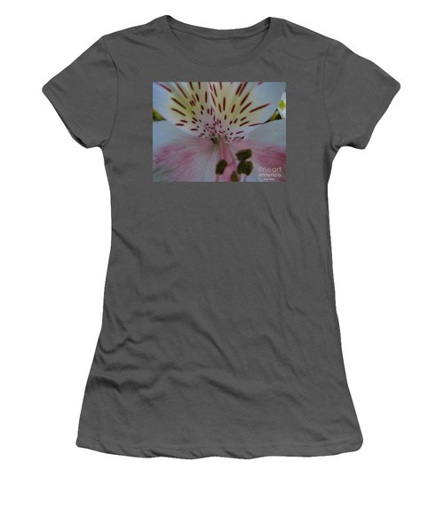 Women's T-Shirt (Junior Cut) featuring the photograph Lily by Greg Patzer