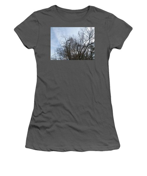 Women's T-Shirt (Junior Cut) featuring the photograph Limbs In Air by Jewel Hengen