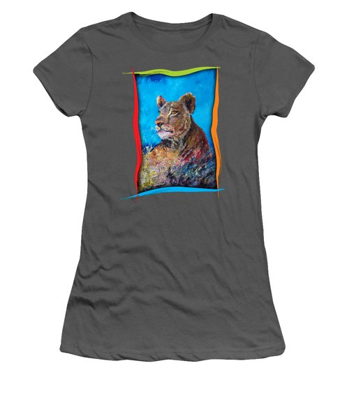 Lioness Pride Women's T-Shirt (Athletic Fit)