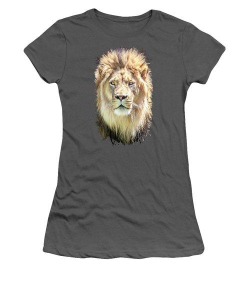 Lions Mane Women's T-Shirt (Athletic Fit)