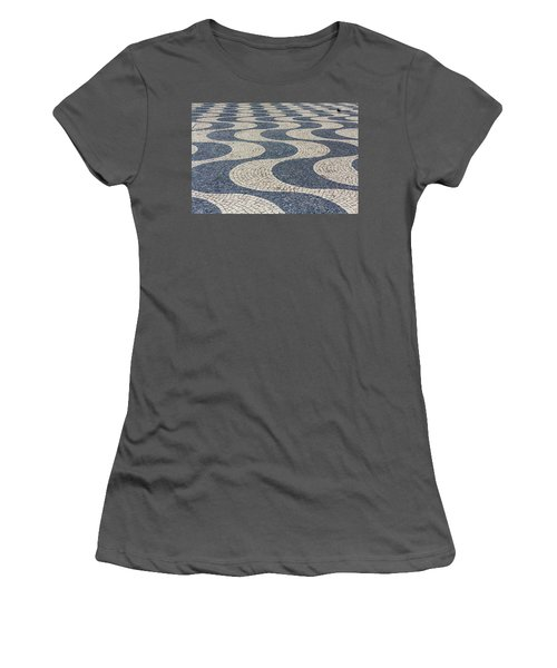 Lisbon Street Women's T-Shirt (Junior Cut) by Patricia Schaefer