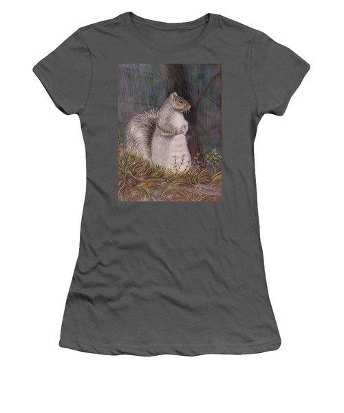 Listening Women's T-Shirt (Junior Cut) by Martha Ayotte
