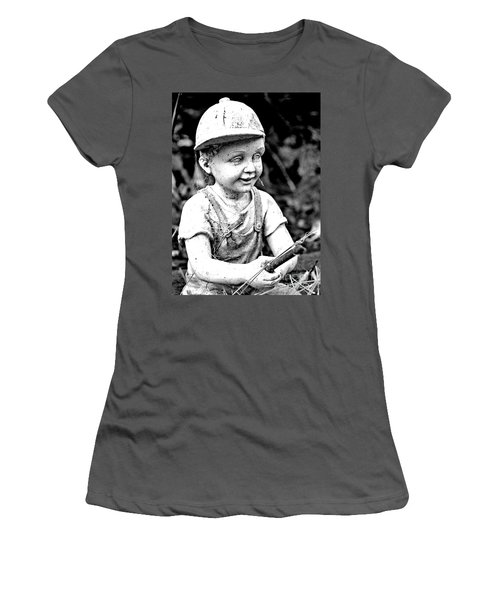 Little Fisherman Women's T-Shirt (Athletic Fit)