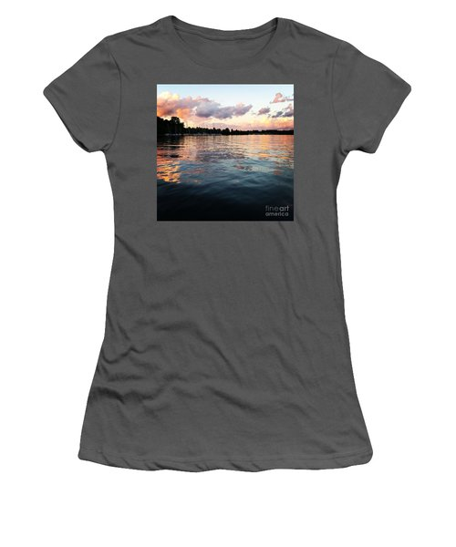Lkn Water And Sky II Women's T-Shirt (Athletic Fit)