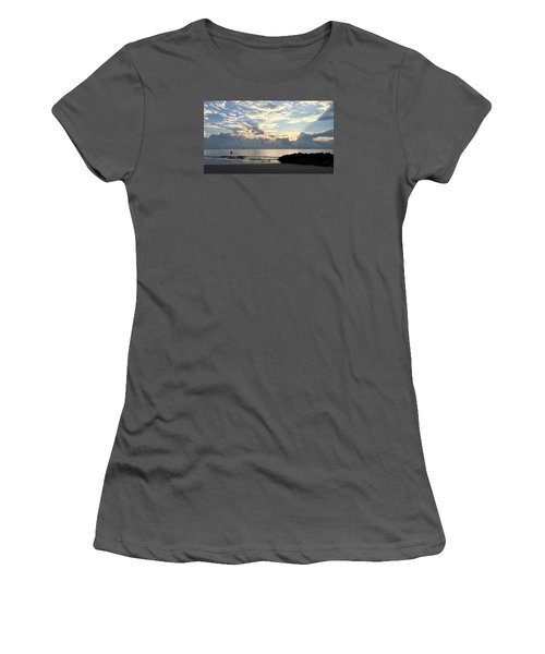 Lone Fishing Women's T-Shirt (Athletic Fit)