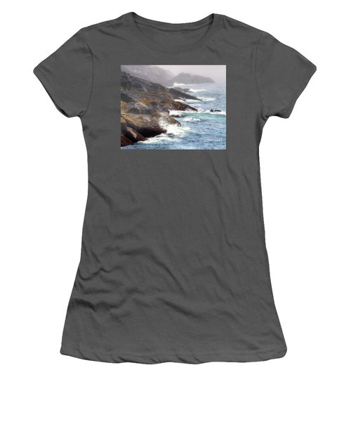 Lobster Cove Women's T-Shirt (Junior Cut) by Tom Cameron