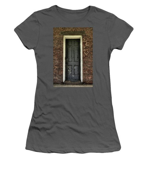 Locked Forever Women's T-Shirt (Junior Cut) by Zawhaus Photography