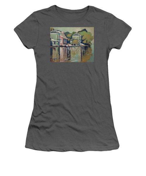 Lofts Along The River Zaan In Zaandam Women's T-Shirt (Junior Cut)