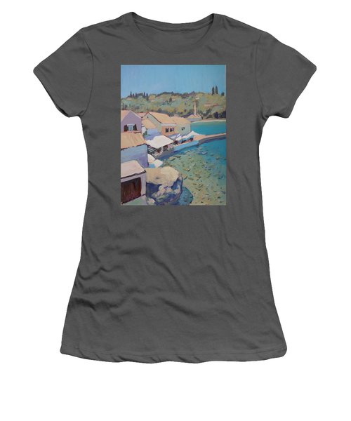 Loggos Pier View Women's T-Shirt (Athletic Fit)