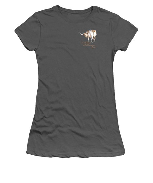 Logo Longhorn For Shirt Pocket Women's T-Shirt (Athletic Fit)