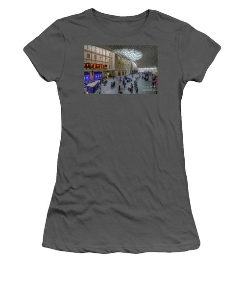 Women's T-Shirt (Junior Cut) featuring the photograph London King's Cross by Yhun Suarez