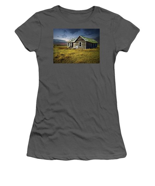 Lonely House Women's T-Shirt (Athletic Fit)
