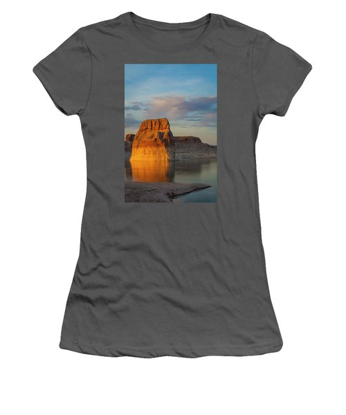 Lonely Rock Women's T-Shirt (Junior Cut) by David Cote