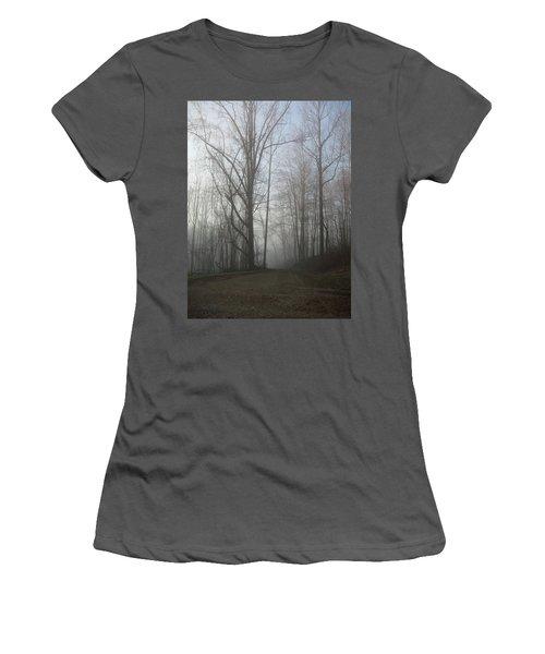 Lonesome Road Women's T-Shirt (Junior Cut) by Cynthia Lassiter