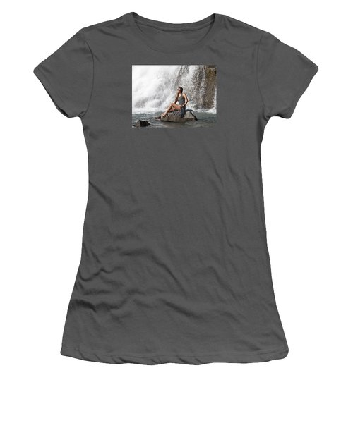 Long Leg Lady Women's T-Shirt (Athletic Fit)