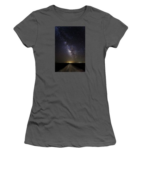 Long Road To Eden Women's T-Shirt (Athletic Fit)
