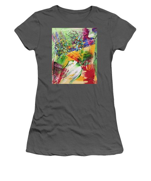 Looking Beyound The Present Women's T-Shirt (Junior Cut) by Sima Amid Wewetzer