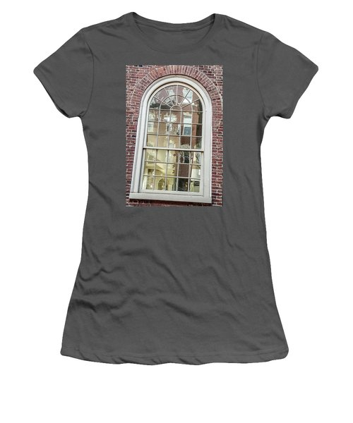 Looking Into History Women's T-Shirt (Junior Cut) by Bruce Carpenter