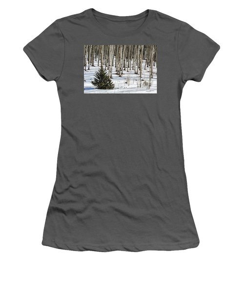 Looking Through The Aspen Women's T-Shirt (Athletic Fit)