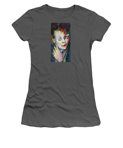 Lori Women's T-Shirt (Junior Cut) by Les Leffingwell