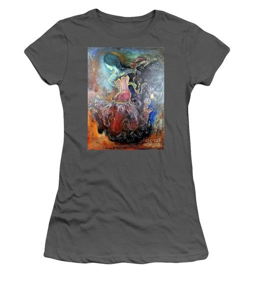 Lost In The Motion Women's T-Shirt (Junior Cut) by Farzali Babekhan