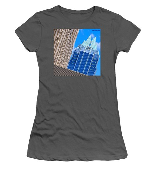 Lots Of #lines, #style And #texture Women's T-Shirt (Athletic Fit)