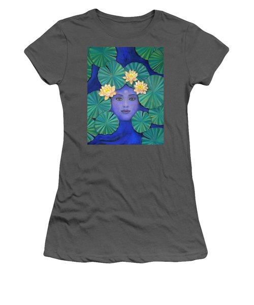 Lotus Nature Women's T-Shirt (Athletic Fit)