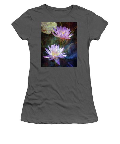 Lotus Reflections 2980 Idp_2 Women's T-Shirt (Athletic Fit)