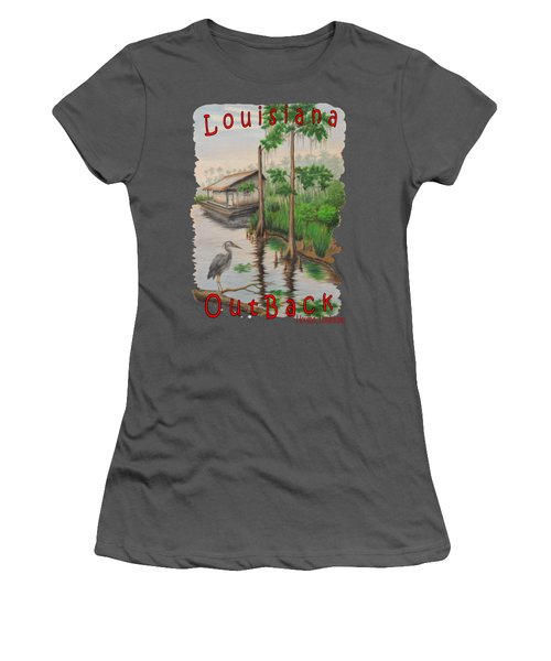 Louisiana Outback Women's T-Shirt (Athletic Fit)