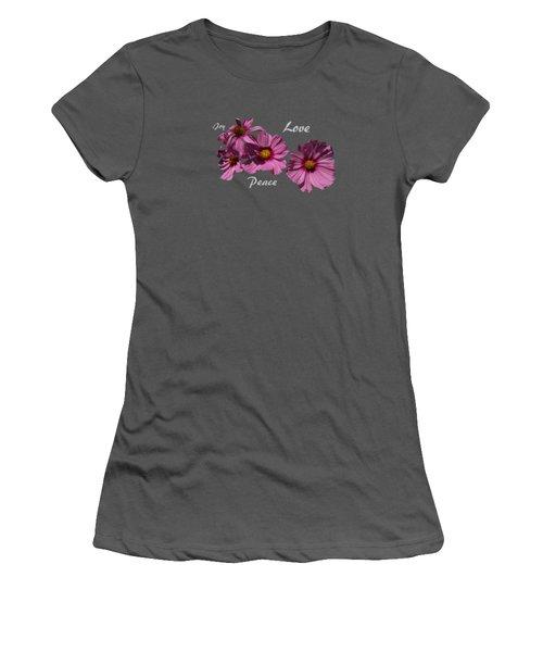 Love Women's T-Shirt (Junior Cut) by David and Lynn Keller
