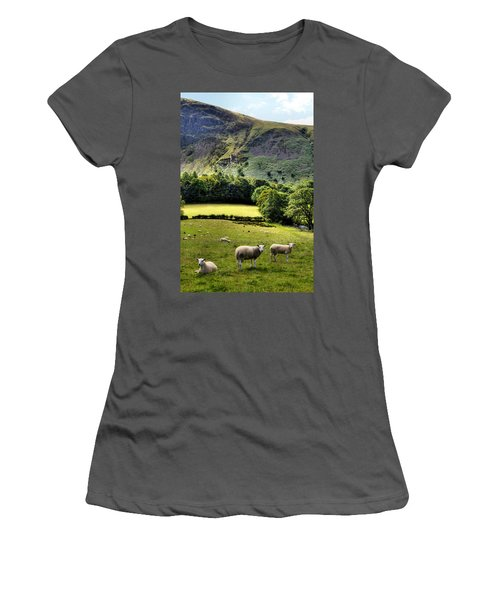Lucky Sheep Women's T-Shirt (Athletic Fit)