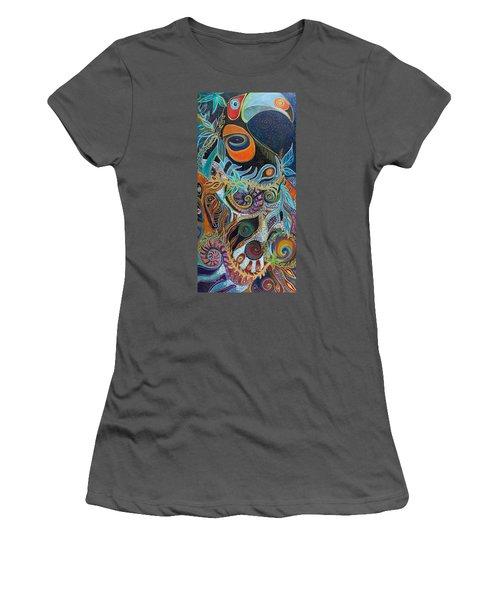 Luminous Women's T-Shirt (Junior Cut) by Leela Payne