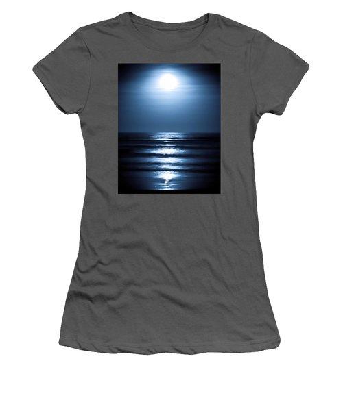 Lunar Dreams Women's T-Shirt (Athletic Fit)