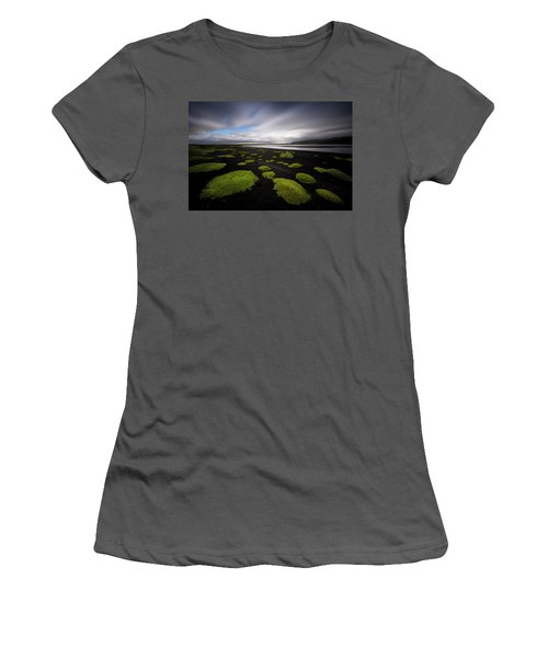 Lunar Moss Women's T-Shirt (Athletic Fit)