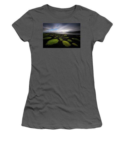 Lunar Moss Women's T-Shirt (Athletic Fit)