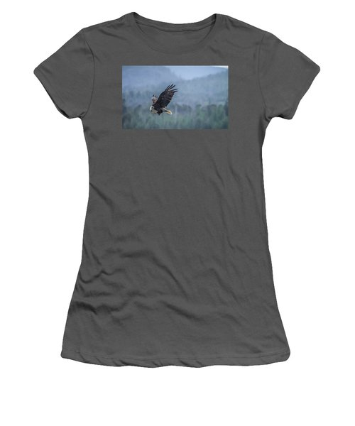 Women's T-Shirt (Junior Cut) featuring the photograph Lunch To Go by Timothy Latta