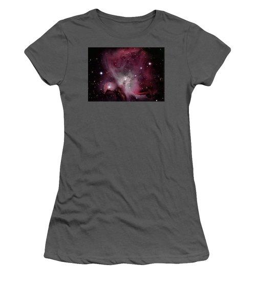 M42 Orion Nebula Women's T-Shirt (Athletic Fit)