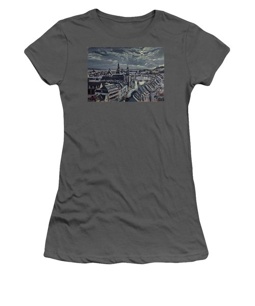 Maastricht By Moon Light Women's T-Shirt (Athletic Fit)
