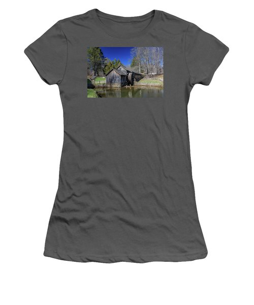 Mabry Mill Late Fall Women's T-Shirt (Athletic Fit)