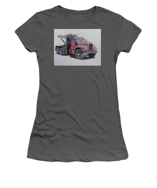 Mack Wrecker. Women's T-Shirt (Junior Cut) by Mike  Jeffries