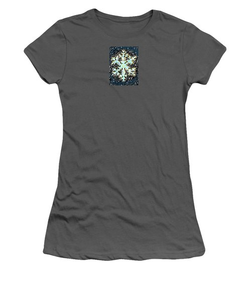 Madeline Snowflake Women's T-Shirt (Athletic Fit)