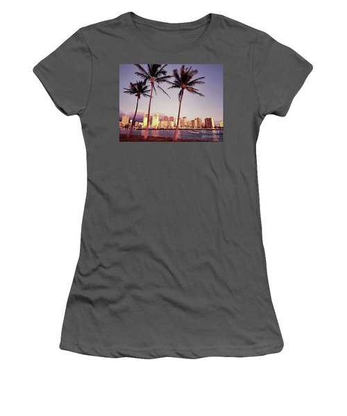 Magic Island Women's T-Shirt (Athletic Fit)